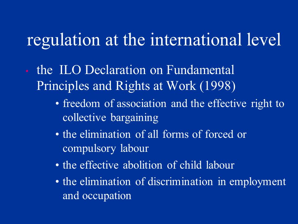 regulation the distortionist view: institutional forms of regulation impede adjustment to economic shocks, discourage hiring, and favour insiders (reg