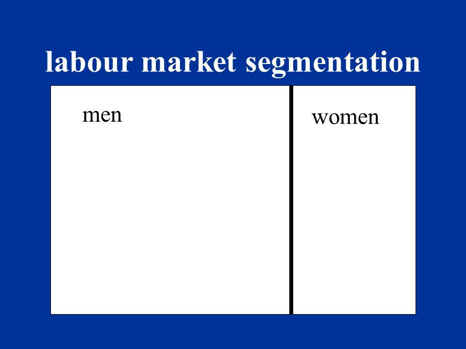 labour market segmentation demand supply demand supply