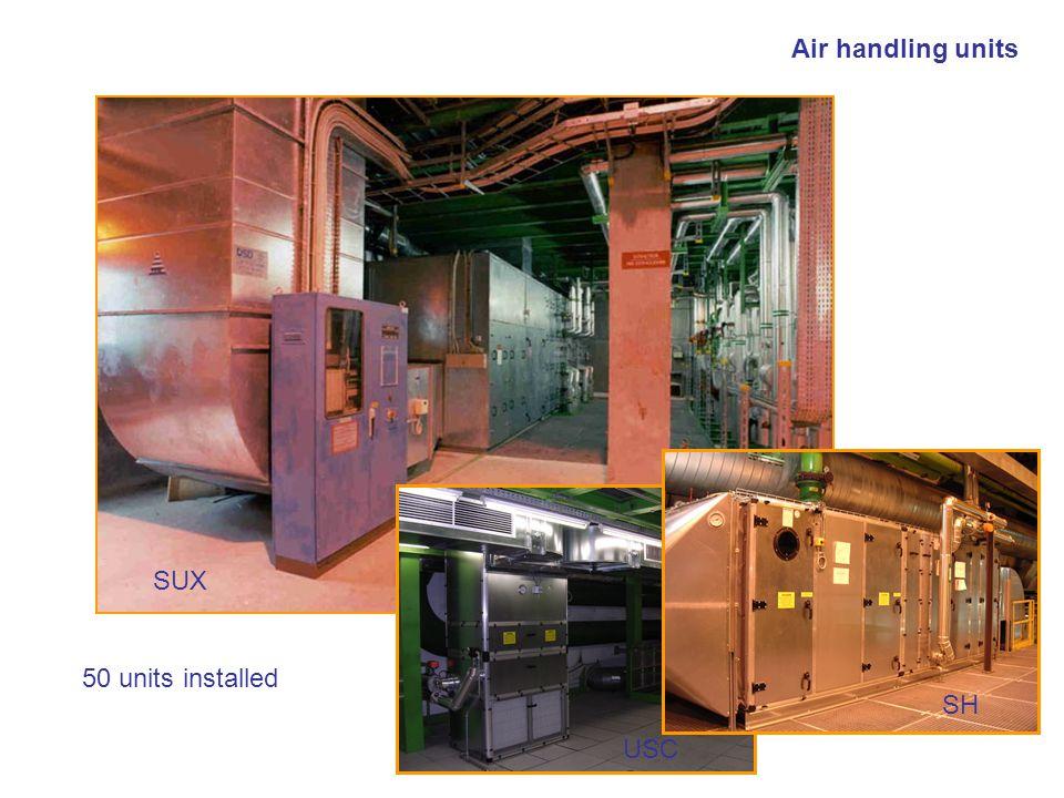 Bernard Pirollet TS-CV-EPA Air handling units 50 units installed SUX SH USC