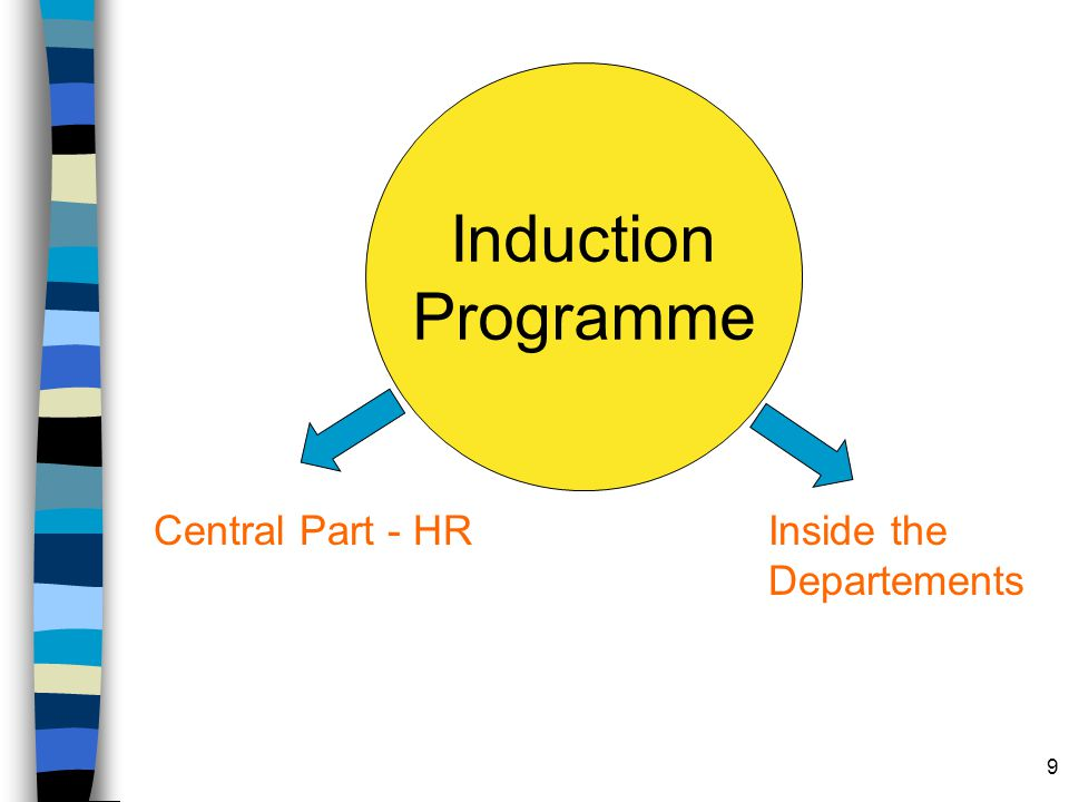 9 Induction Programme Central Part - HRInside the Departements