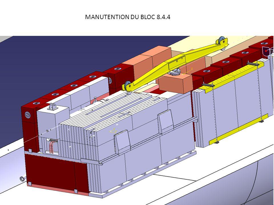 MANUTENTION DES 2 BLOCS 8.4.4 DU DUMP AVAL