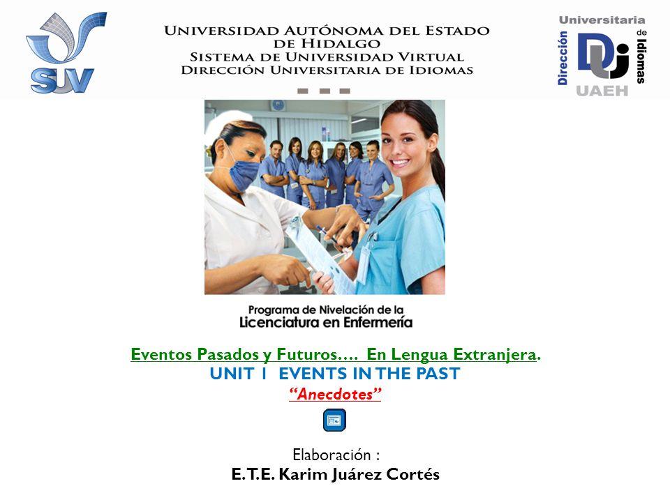 Programa de Nivelación Académica de la Licenciatura en Enfermería Unit 2 Heroes Unit 2 Heroes Lengua Extranjera II LELI.