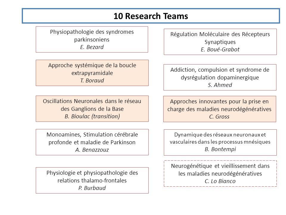 10 Research Teams Approche systémique de la boucle extrapyramidale T.