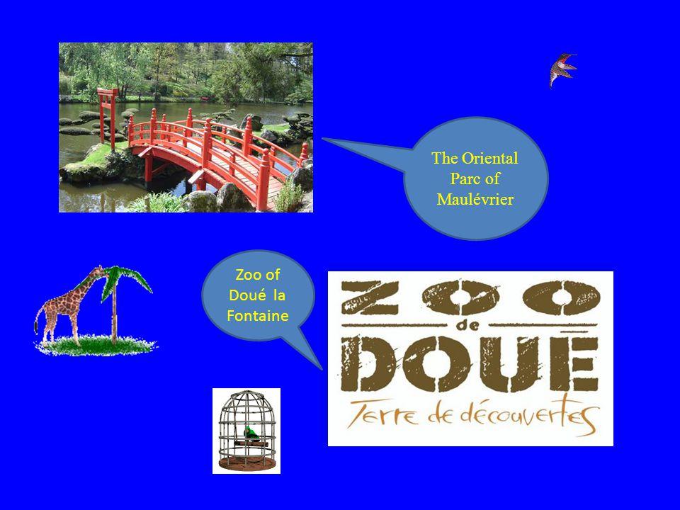 The Oriental Parc of Maulévrier Zoo of Doué la Fontaine
