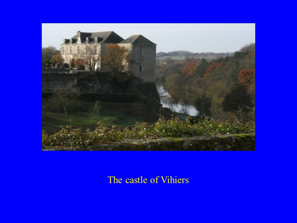 The castle of Vihiers