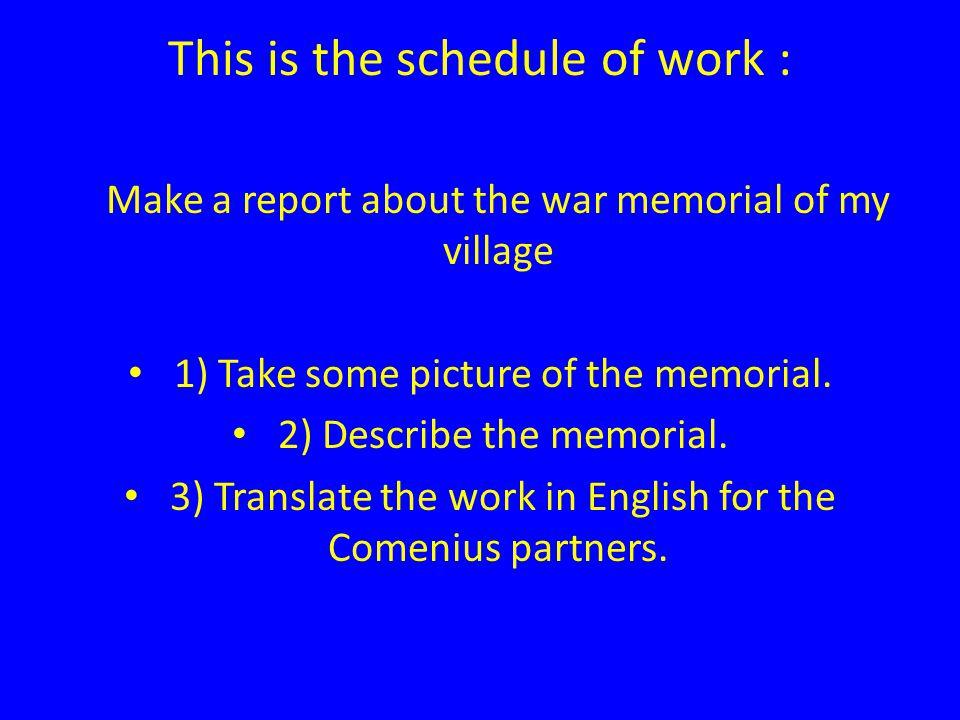 Vihierss war memorial