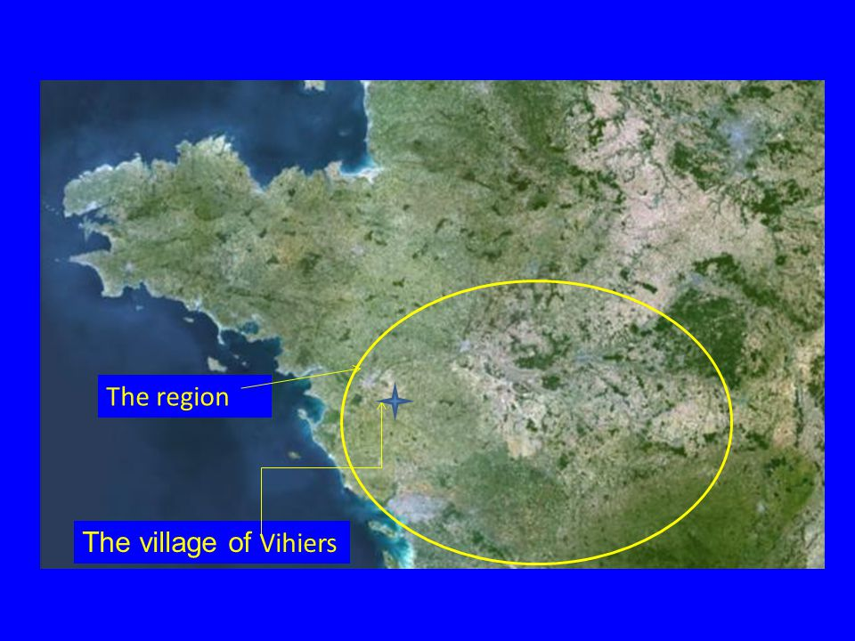 The region The village of Vihiers