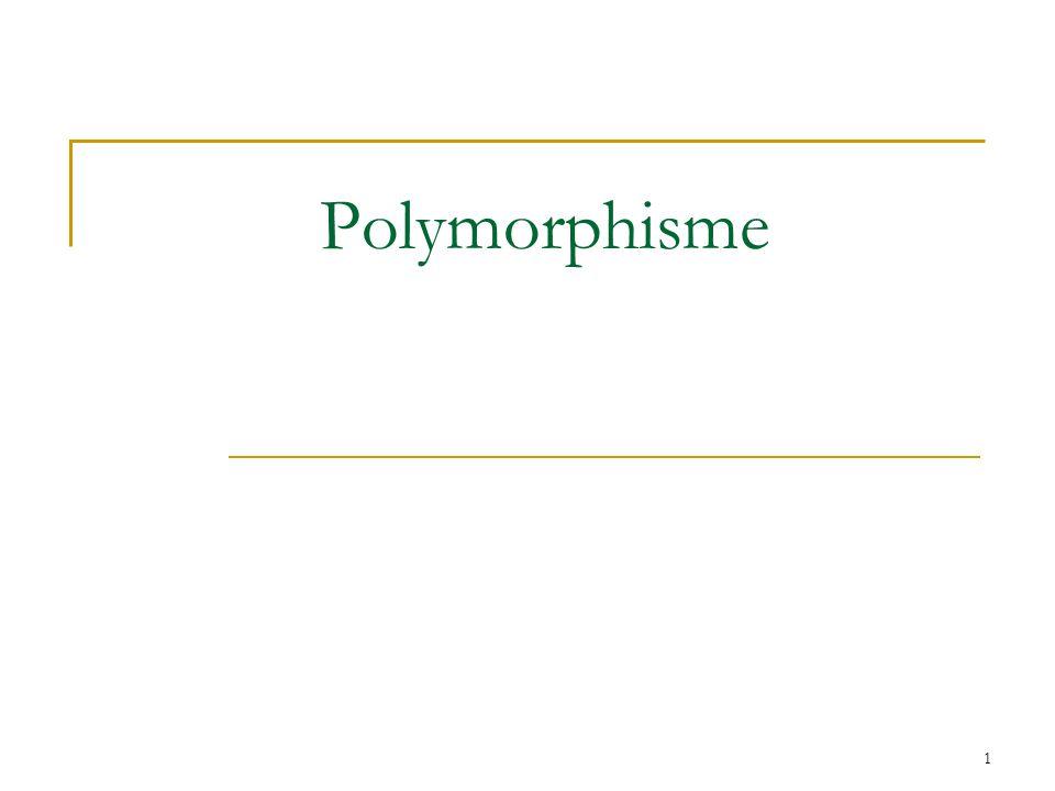 1 Polymorphisme