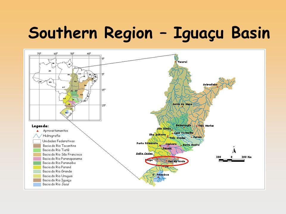 Southern Region – Iguaçu Basin