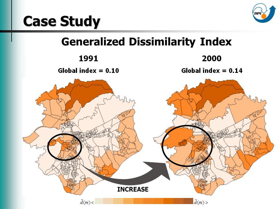 Case Study Case Study Generalized Dissimilarity Index INCREASE