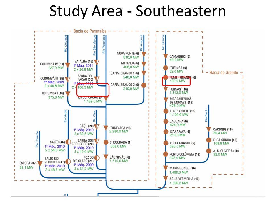 Study Area - Southeastern