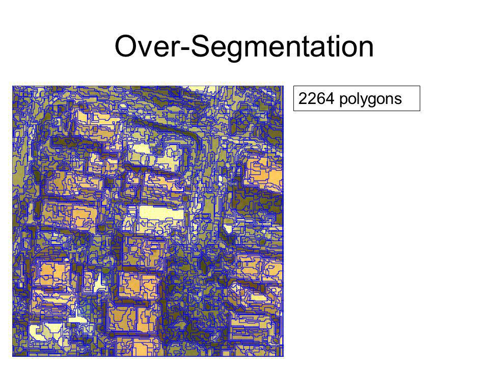 Classification trees roofs buildings streets others