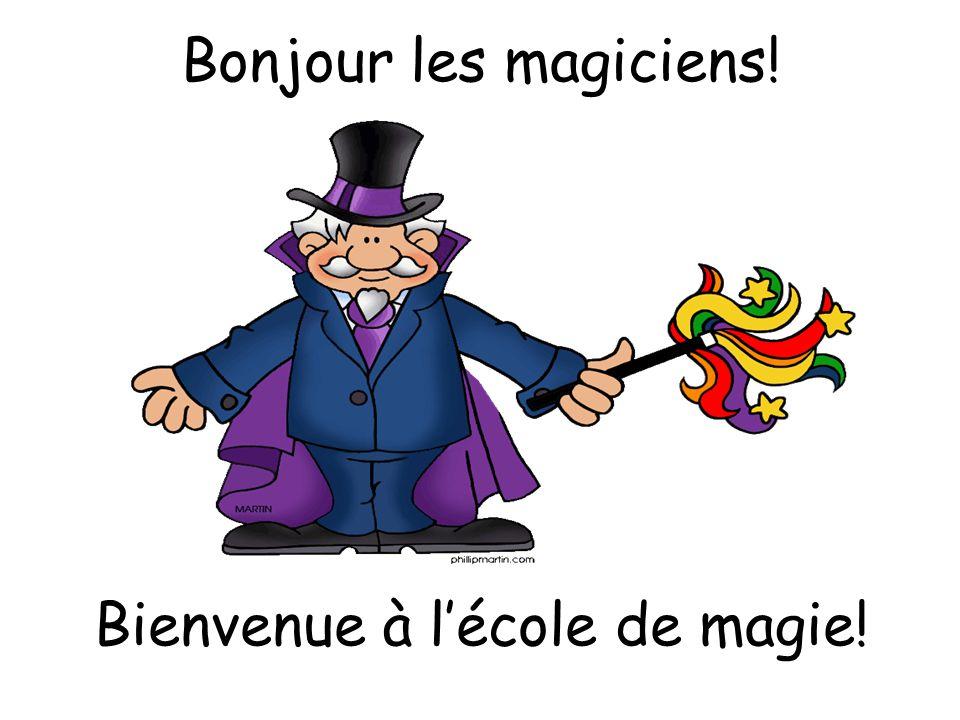 French Level 1/ 2 La magie!