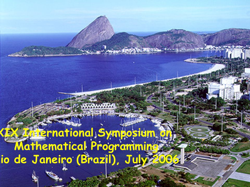 August 2003 Tabu search heuristic to partition coloring36/36 MIC2003 XIX International Symposium on Mathematical Programming Rio de Janeiro (Brazil), July 2006