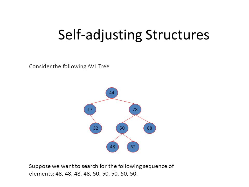 Splay Tree Analysis – Case 1: Only one rotation (zig) AB x C r CB r A x ZIG(x) w.l.o.g.