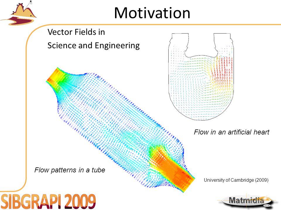Motivation Noise in vector data-acquisition Flow around a live swimming fish (Yoshida et al 2004)