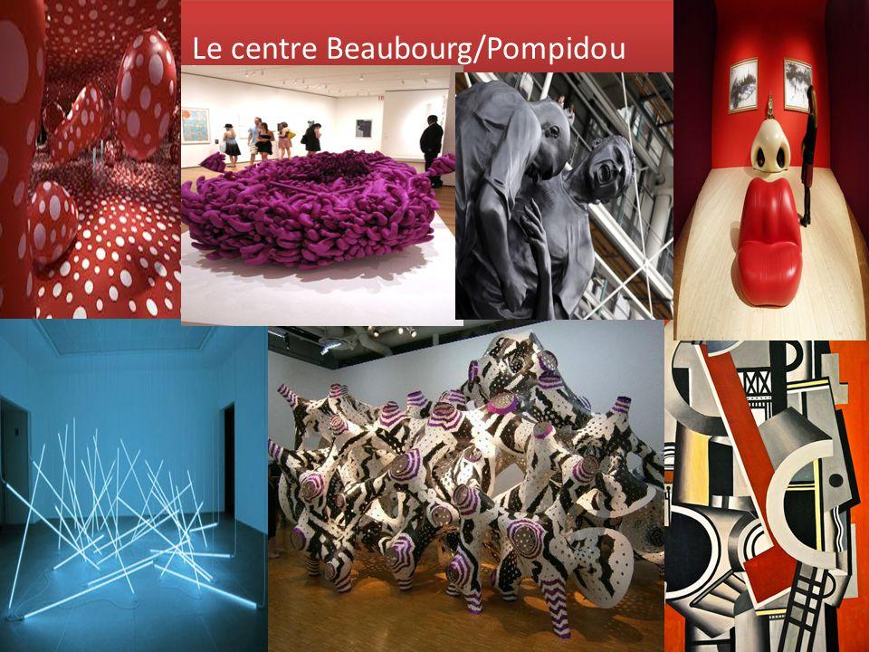 Le centre Beaubourg/Pompidou