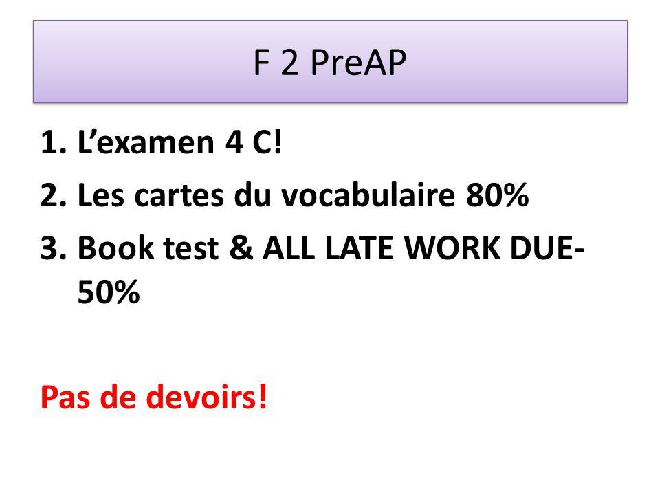 F 2 PreAP 1.Lexamen 4 C.
