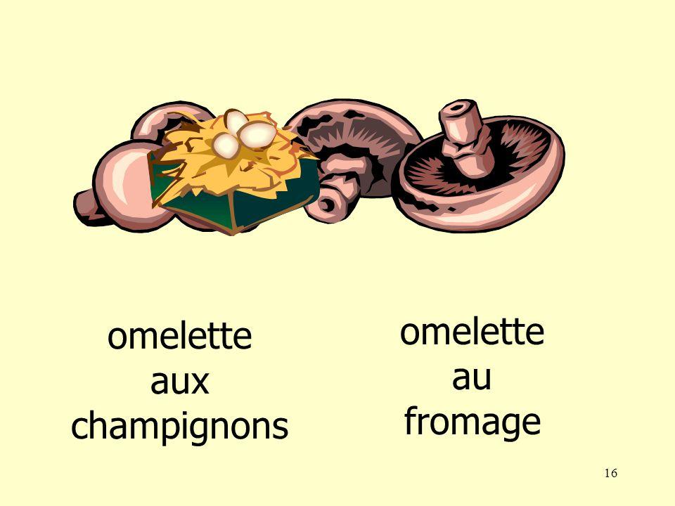 15 steak omelette