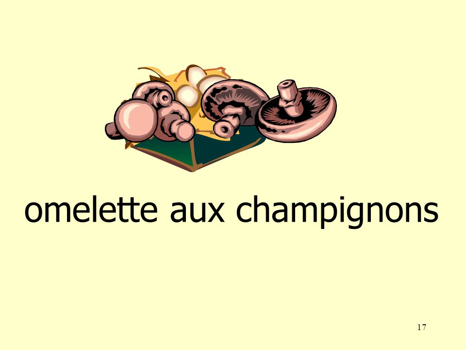 16 omelette aux champignons omelette au fromage