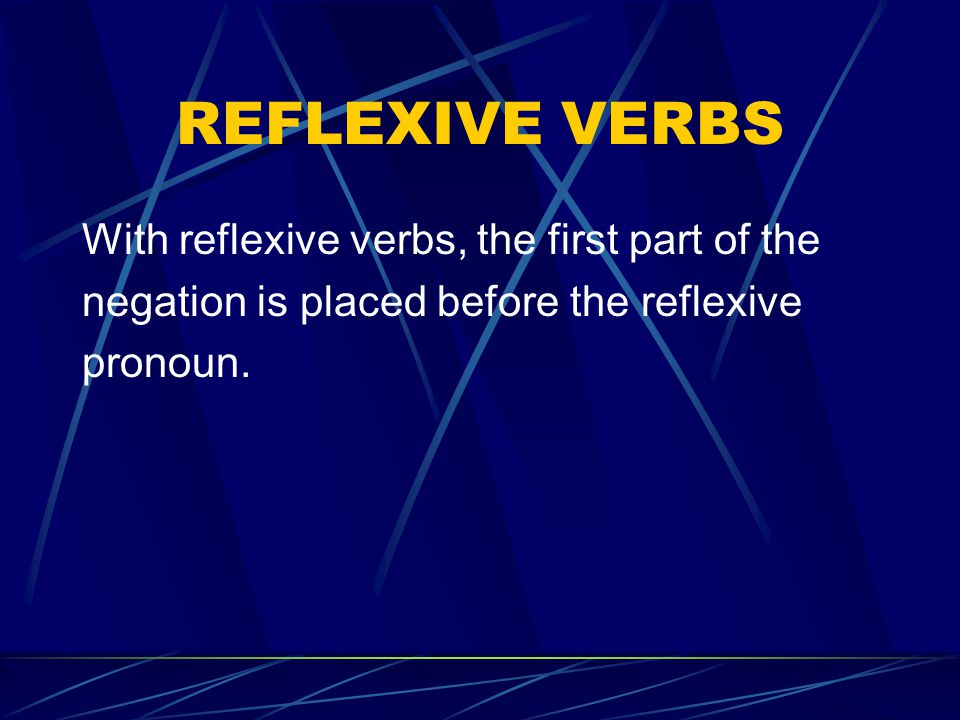 COMPOUND VERBS (verbs made up of 2 parts) Theres one exception to this rule.