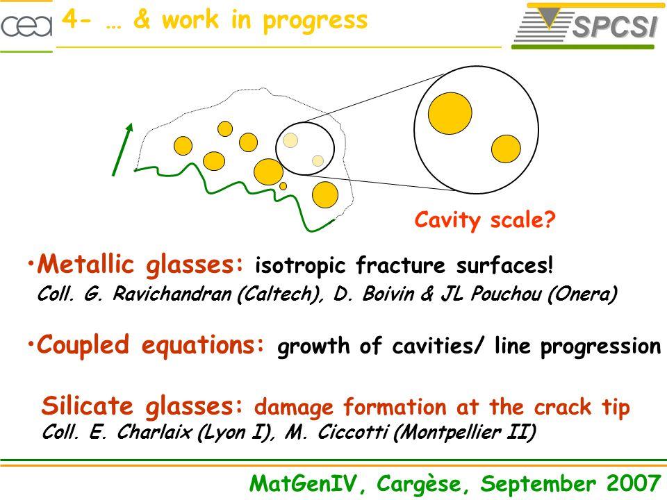 Cavity scale.