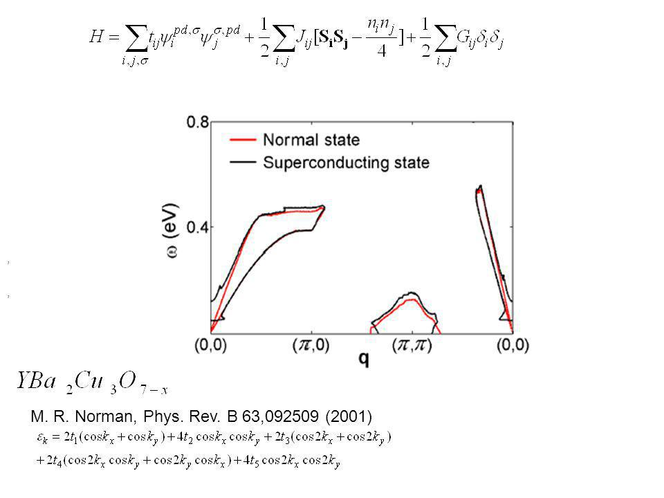 M. R. Norman, Phys. Rev. B 63,092509 (2001),,