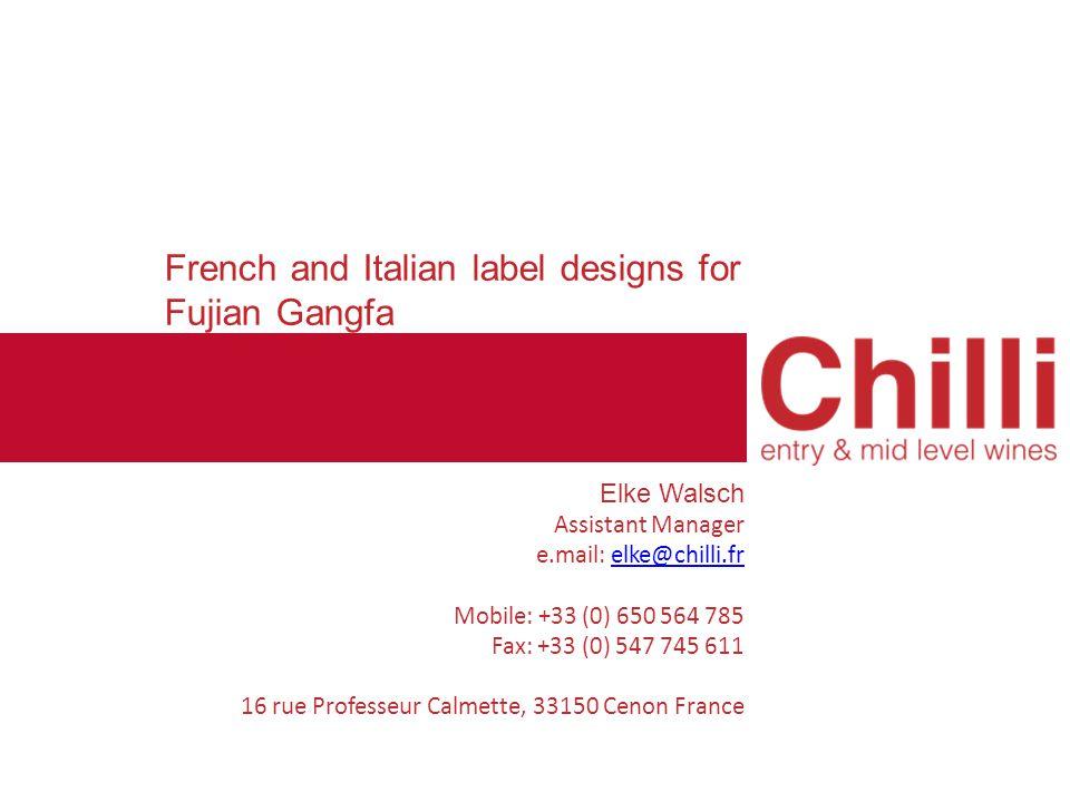 French label design – Brand: Baron Duval