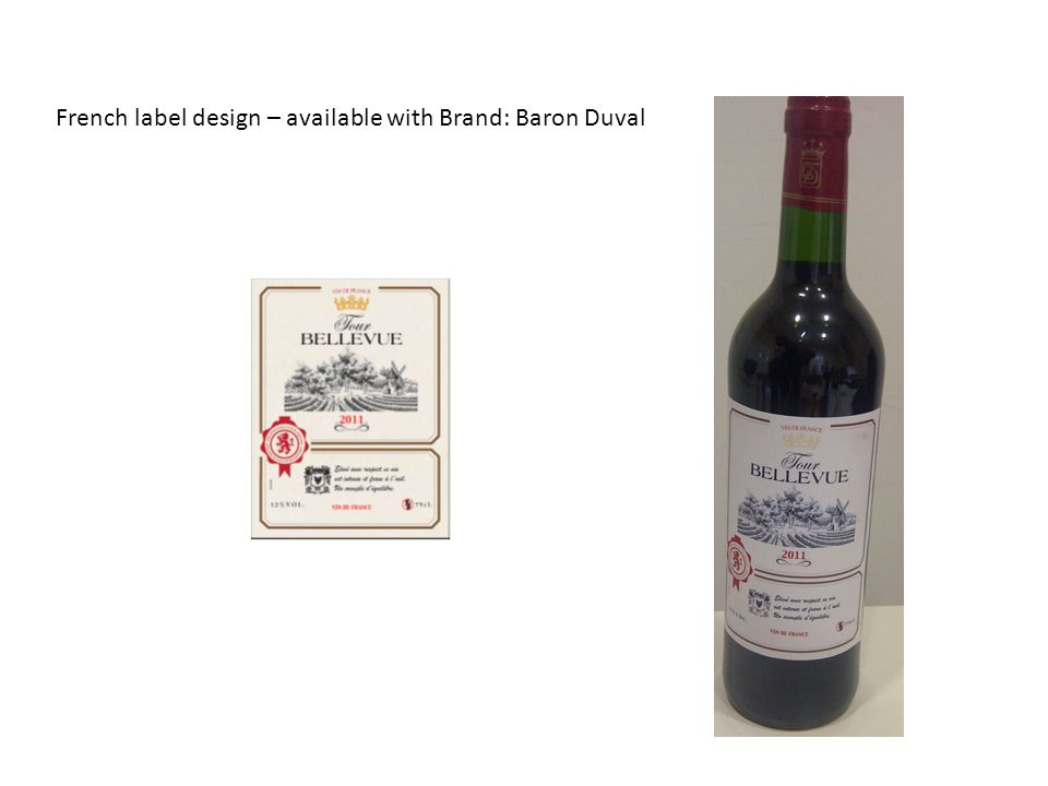 Elke Walsch e.mail: elke@chilli.fr - Mobile: +33 (0) 650 564 785elke@chilli.fr IT12001J Italian label design – available with Brand: Bacconi, Ponte Vicente
