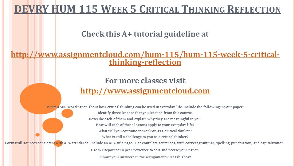 """how can you apply critical thinking in your college courses 37 critical thinking in college writing: from the personal to the academic gita dasbender there is something about the term """"critical thinking"""" that makes you."""