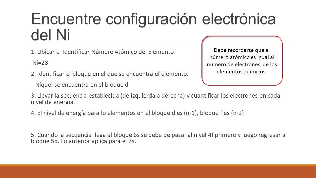 Configuracin electrnica segn la configuracin electrnica los 7 encuentre configuracin electrnica urtaz Choice Image