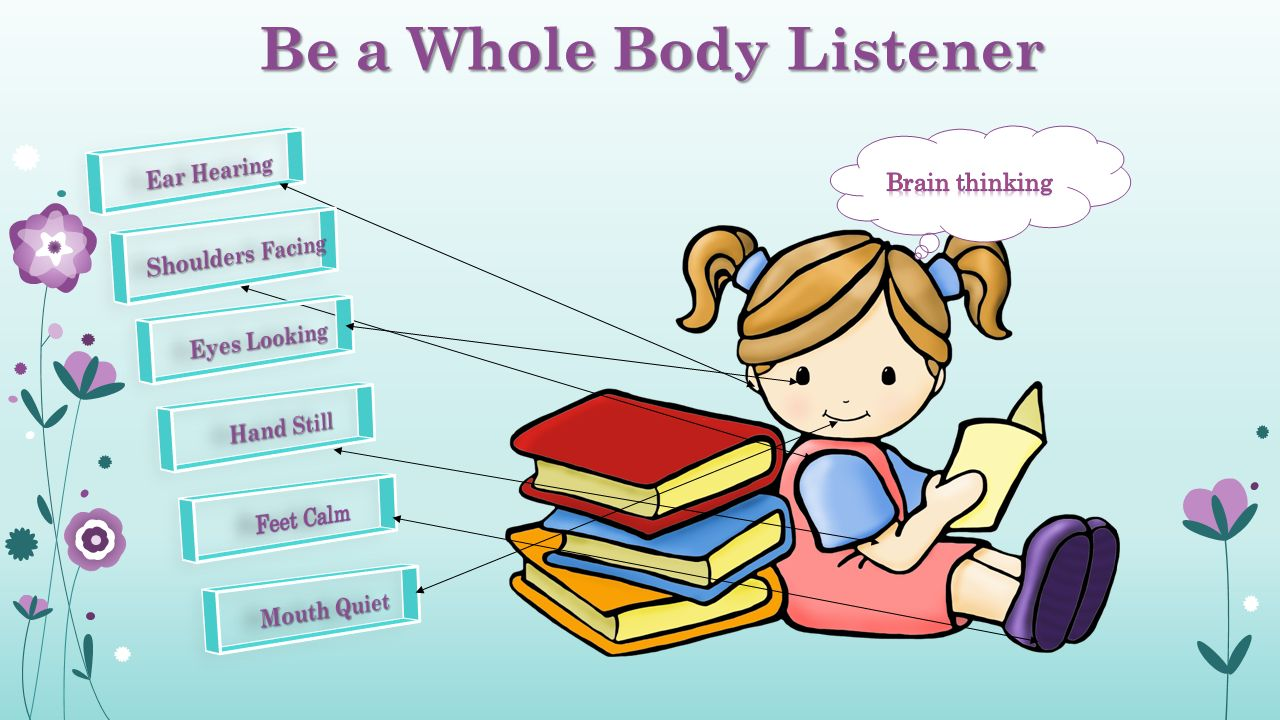 Be a Whole Body Listener