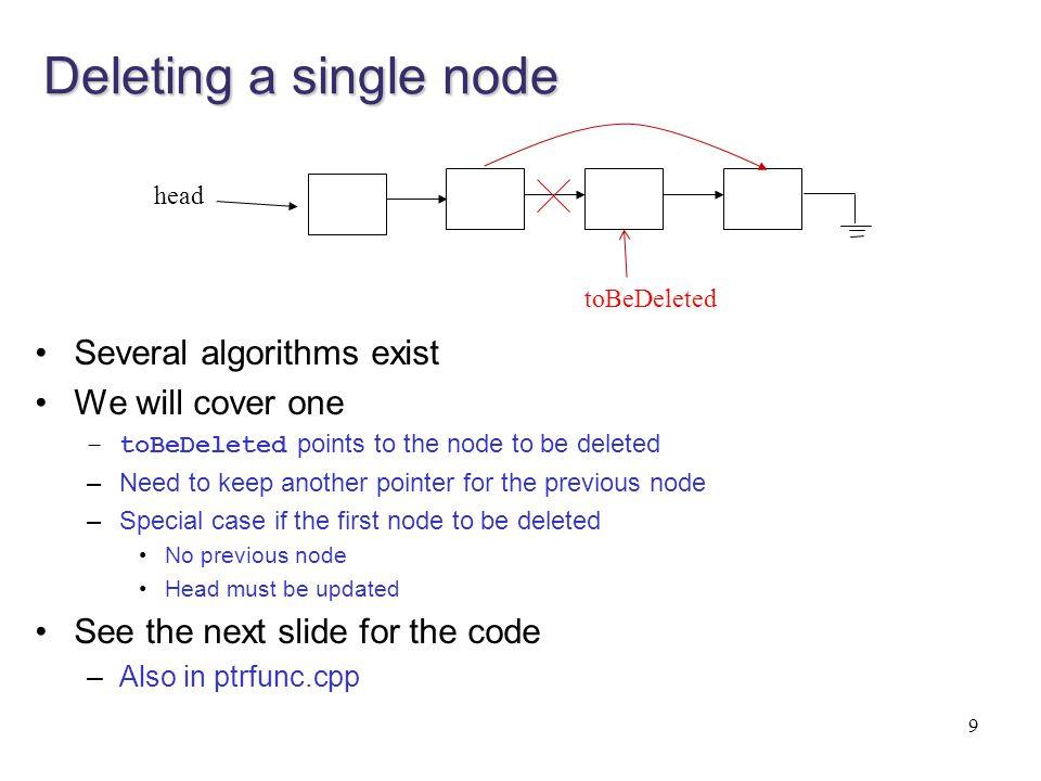 30 Case 2) 2d data allocation w/ class (See matrixclass.h, matrixclass.cpp, matrixclassdemo.cpp) class Matrix2D { private: int rows, cols; int ** data; public: Matrix2D(int r, int c); int GetIndex(int i, int j); void SetIndex(int i, int j, int val); }; Matrix2D::Matrix2D(int r, int c) { rows = r; cols = c; data = new int* [r]; for (int i = 0; i<rows; i++) data[i] = new int[cols]; } int Matrix2D::GetIndex(int i, int j) { return data[i][j]; } void Matrix2D::SetIndex(int i, int j, int value) { data[i][j] = value; } Full implementation is in matrixclass.h, matrixclass.cpp.
