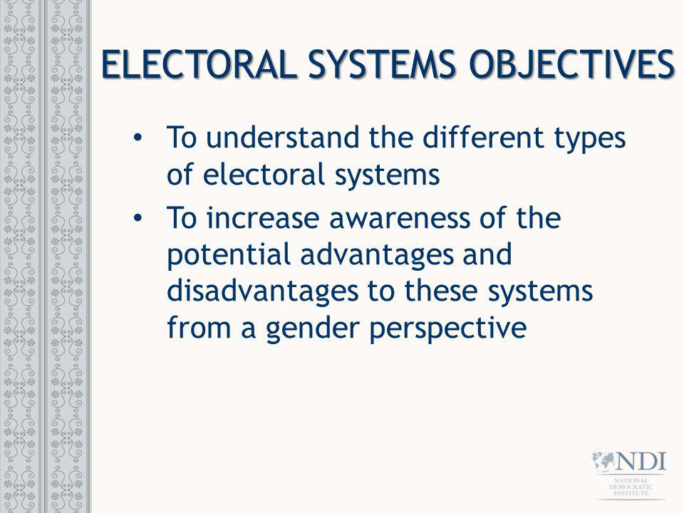 MAJORITARIAN Also known as plurality system Whoever wins the most votes, wins the election.