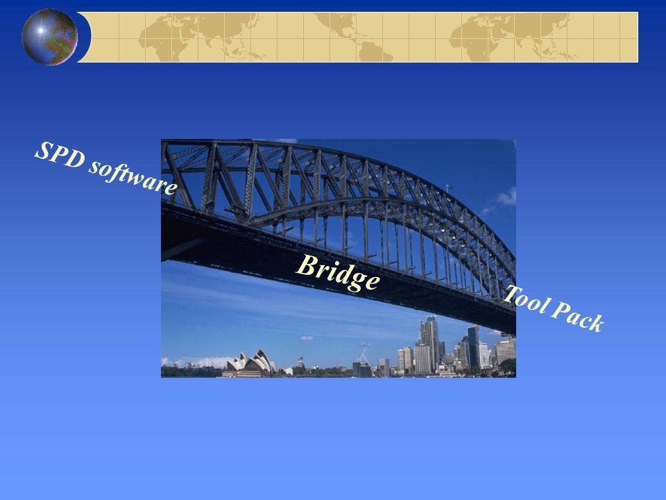 Bridge Tool Pack SPD software
