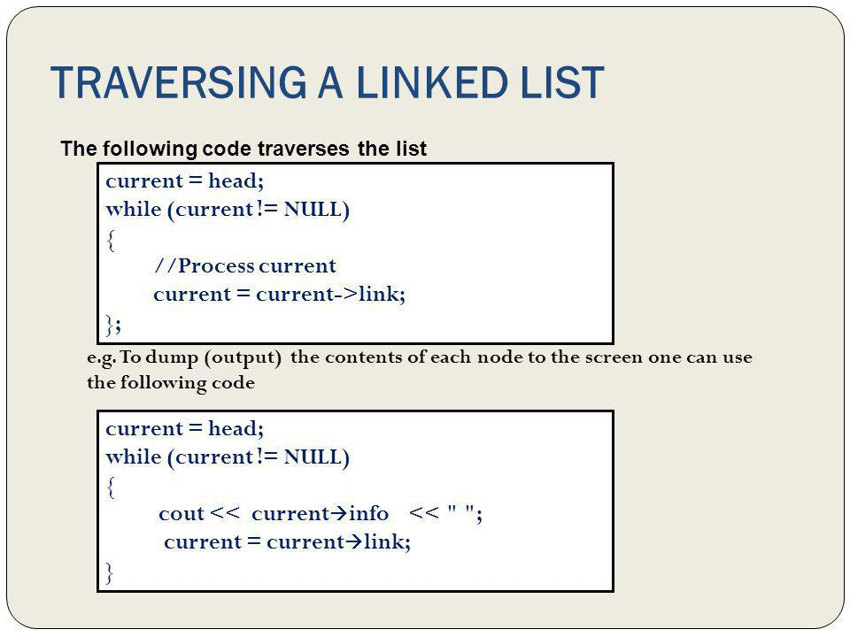 Item Insertion and deletion This section discusses how to insert an item into, and delete an item from, a linked list.