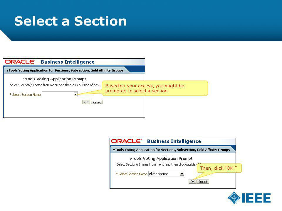 12-CRS-0106 REVISED 8 FEB 2013 Select a Section Based on your access, you might be prompted to select a section.