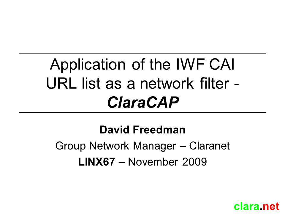 clara.net Why.
