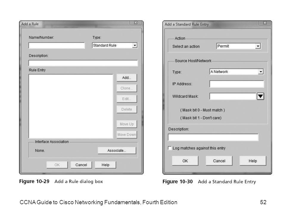 CCNA Guide to Cisco Networking Fundamentals, Fourth Edition52