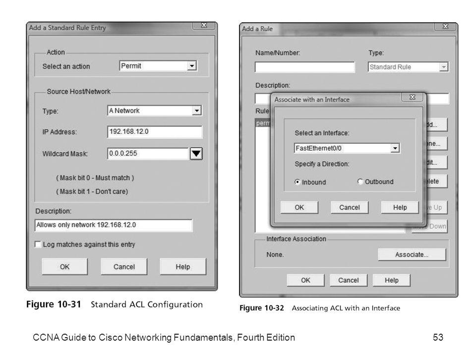 CCNA Guide to Cisco Networking Fundamentals, Fourth Edition53