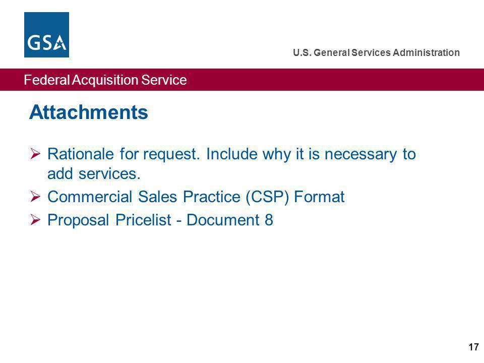 Federal Acquisition Service U.S.