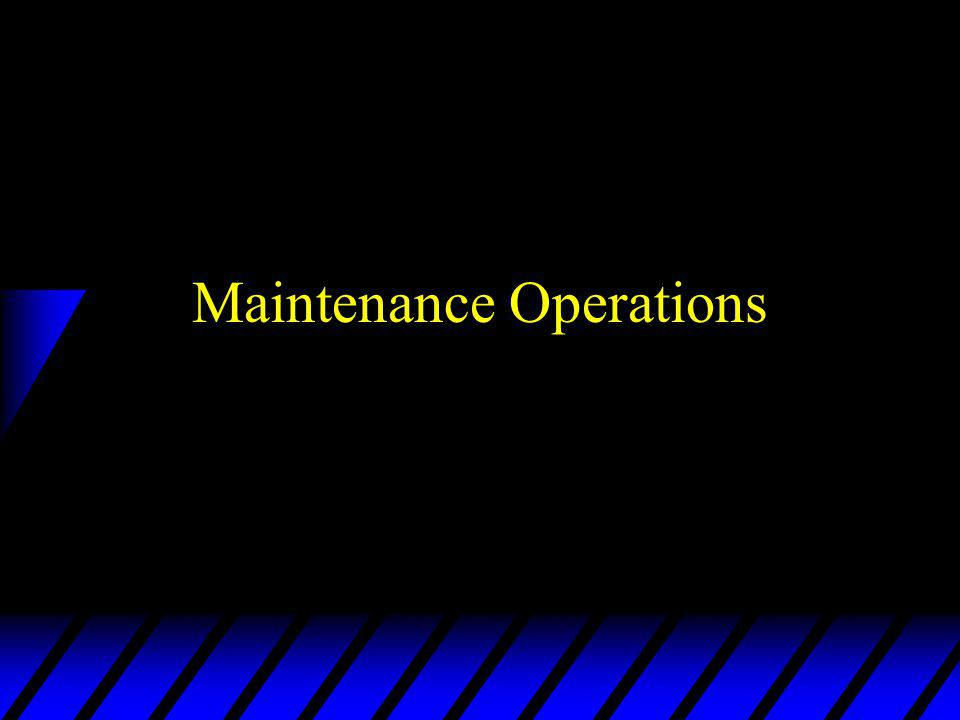 Principles of Maintenance u Maintenance performed at level best qualified, responsive & cost effective u IAW MAC chart u Repairs beyond organic capability delivered to next level u Unit level performed before evacuated u Controlled exchange used to support maintenance