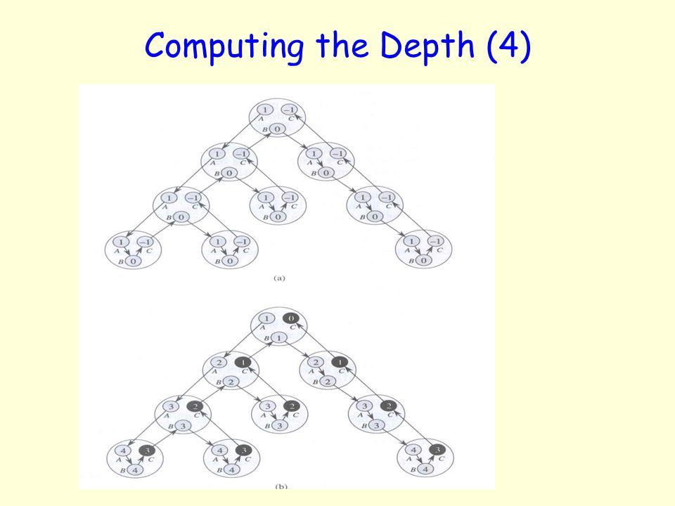 Computing the Depth (4)