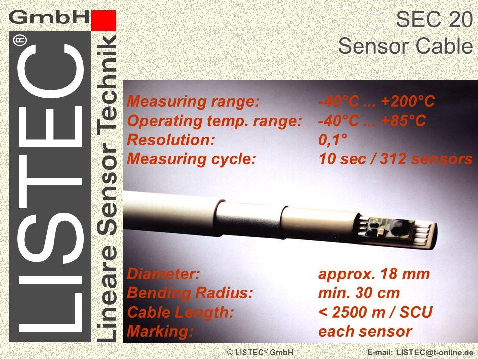 © LISTEC ® GmbH E-mail: LISTEC@t-online.de Cold Storage at - 28° C