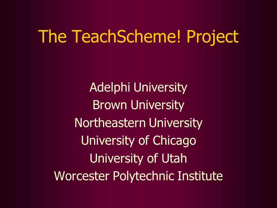 The TeachScheme.