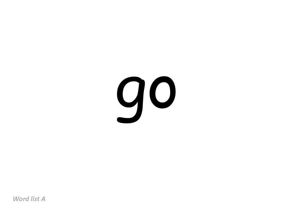 Word List D