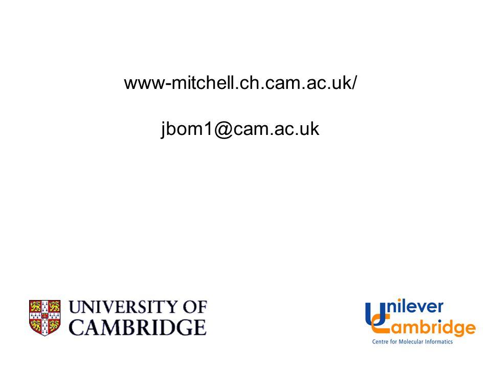 www-mitchell.ch.cam.ac.uk/ jbom1@cam.ac.uk