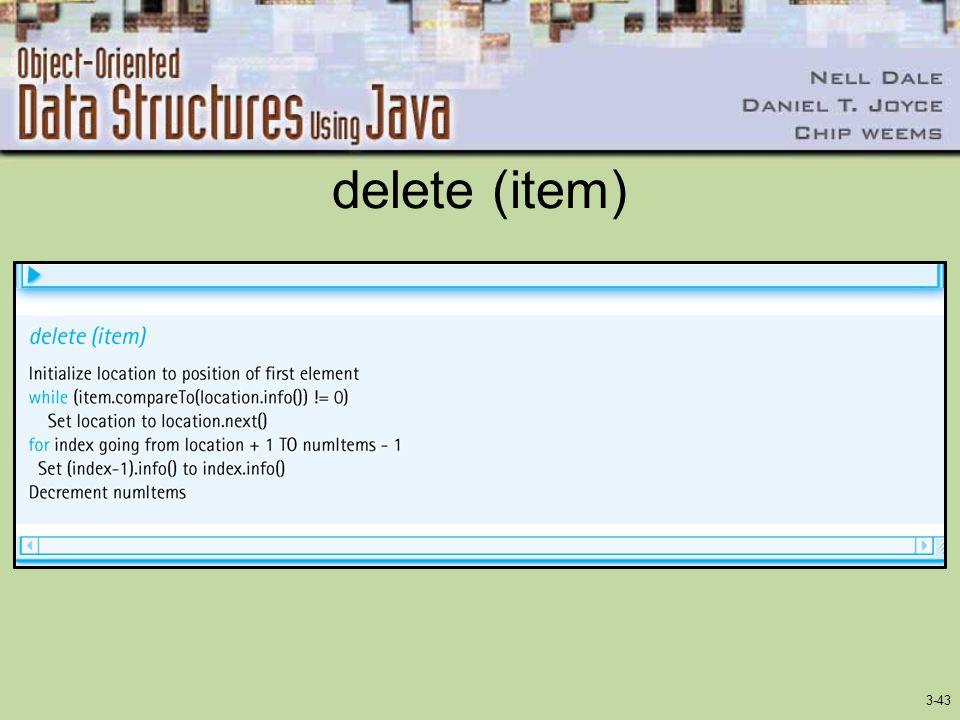 3-43 delete (item)