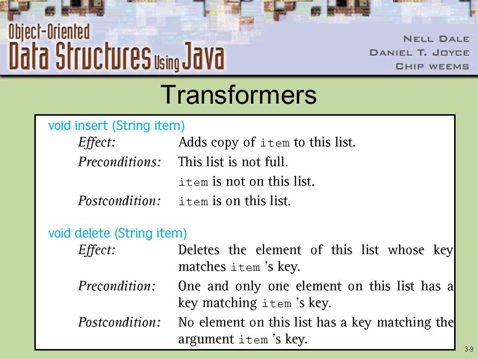3-9 Transformers