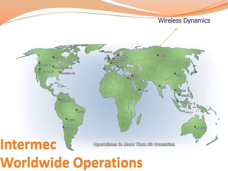 Intermec Worldwide Operations Wireless Dynamics